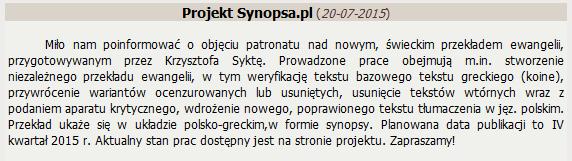 synopsa