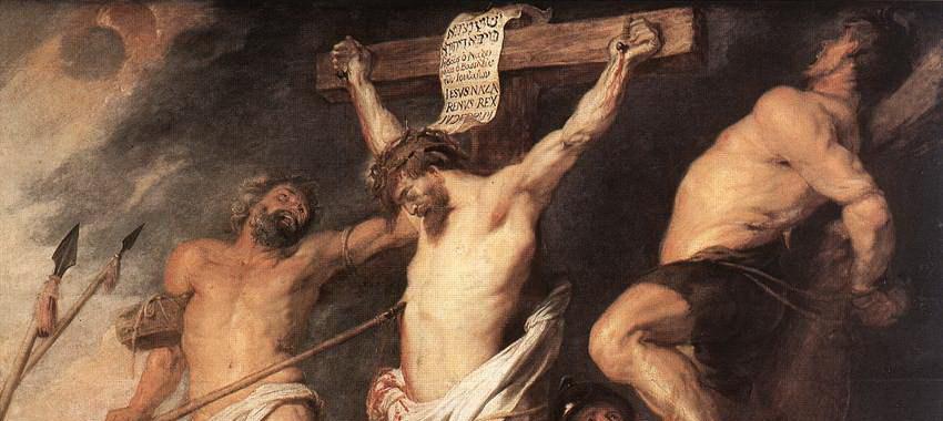 Spór wokół właściwej lokalizacji przecinka w Łukasza 23:43
